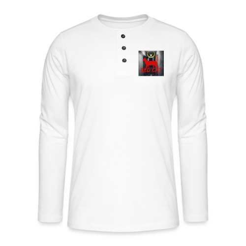 Red Cat (Deluxe) - Henley long-sleeved shirt