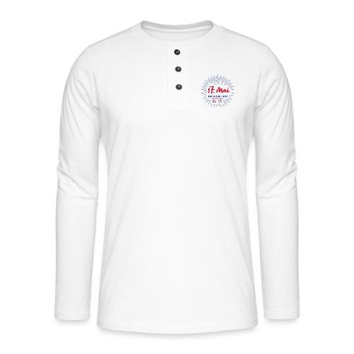 17. mai T-skjorte - Det norske plagg - Henley langermet T-skjorte