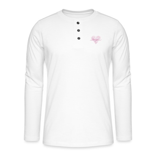 In kalk letters - T-shirt manches longues Henley