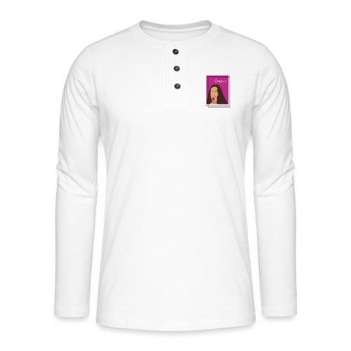 SUGAR - Camiseta panadera de manga larga Henley