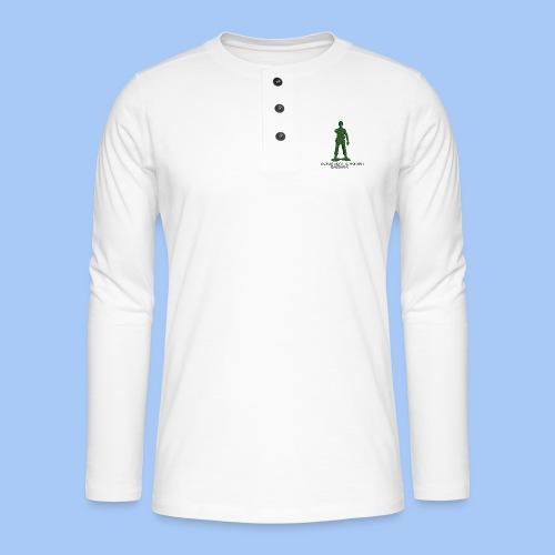 donde esta tu honor - Camiseta panadera de manga larga Henley