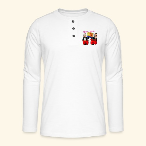 Pizza Club - Henley shirt met lange mouwen