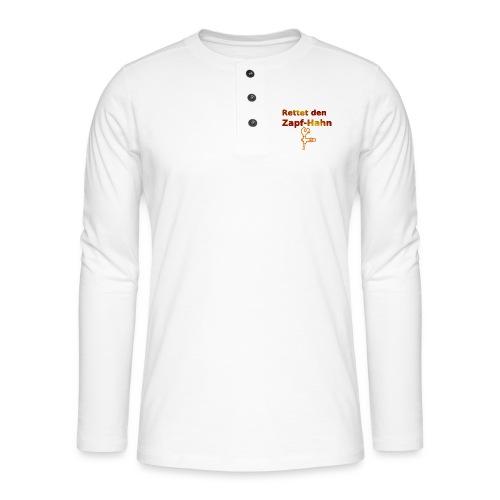 Rettet Zapfahn RG - Henley Langarmshirt