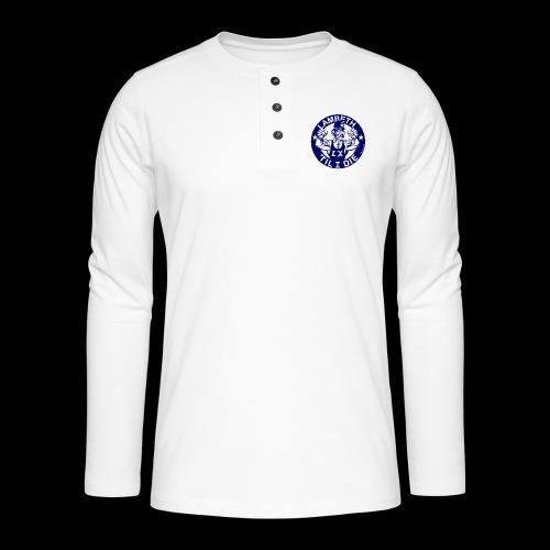 LAMBETH - NAVY BLUE - Henley long-sleeved shirt