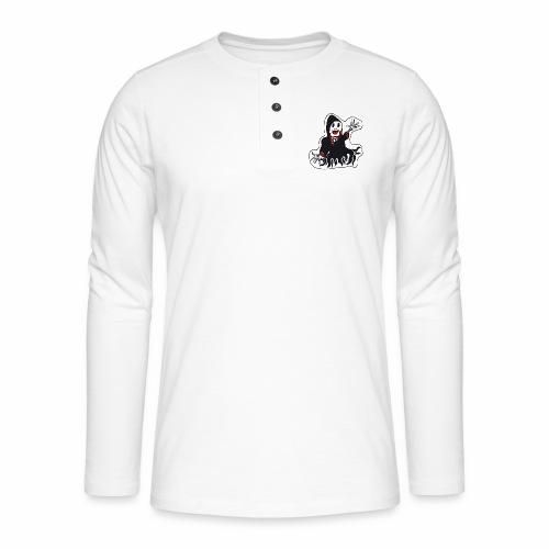 la faucheuse rigolote - T-shirt manches longues Henley