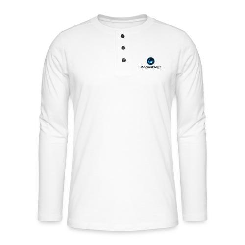 MagmaPlayz shark - Henley T-shirt med lange ærmer