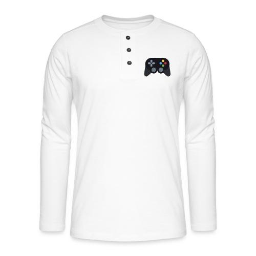 Spil Til Dig Controller Kollektionen - Henley T-shirt med lange ærmer