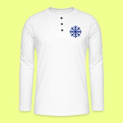 COPO DE NIEVE - Camiseta panadera de manga larga Henley