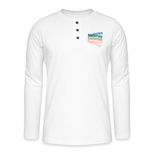 Kiteboard | Zensitivity beach - Henley shirt met lange mouwen