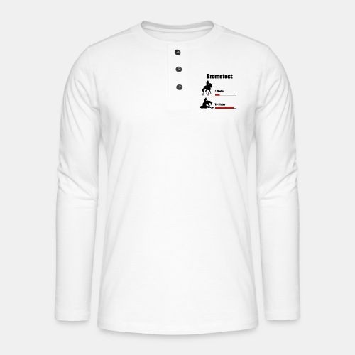 Bremstest - Henley Langarmshirt
