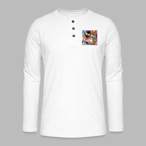 Vunky Vresh Vantastic - Henley shirt met lange mouwen