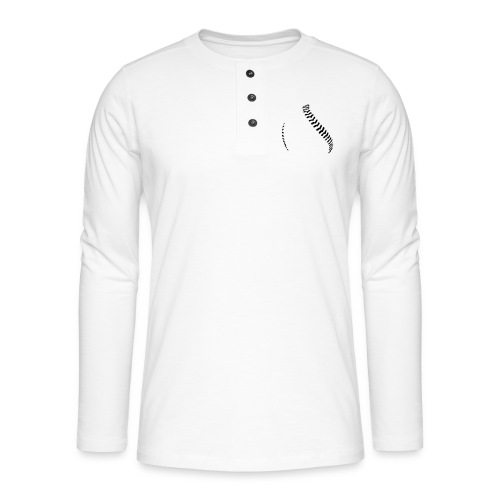Baseball - Henley long-sleeved shirt