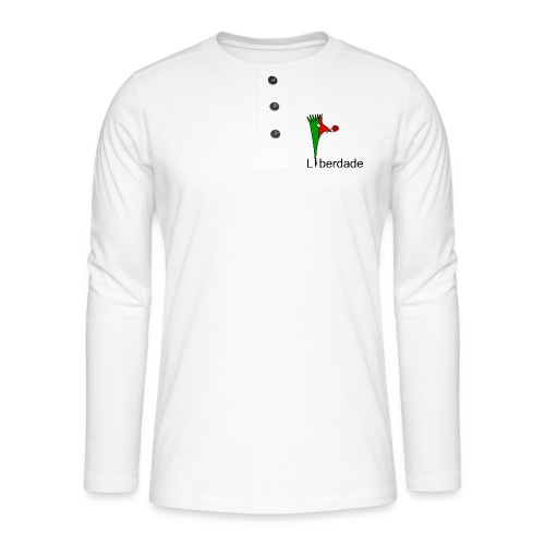 Galoloco - Liberdaded - 25 Abril - Henley long-sleeved shirt