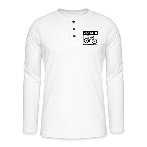 26 MTB 1C Cut - Henley Langarmshirt