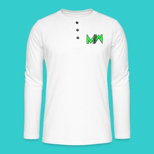 MeestalMip Shirt - Men - Henley shirt met lange mouwen