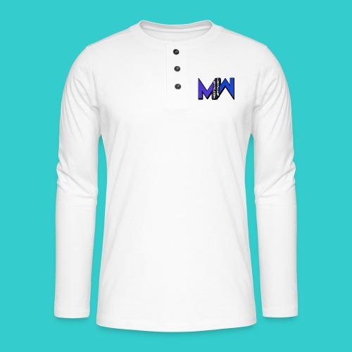 MeestalMip Hoodie - Men - Henley shirt met lange mouwen