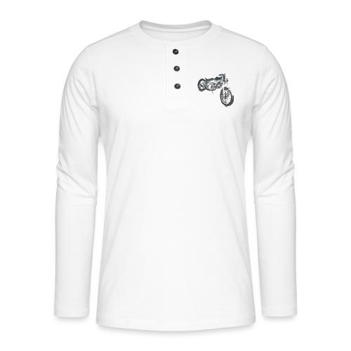 bike (Vio) - Henley long-sleeved shirt