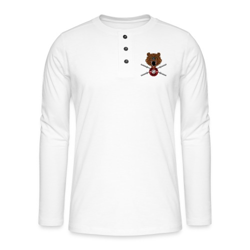 Bear Fury Crossfit - T-shirt manches longues Henley