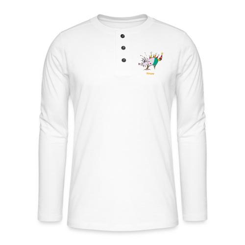 Tricérapop - T-shirt manches longues Henley