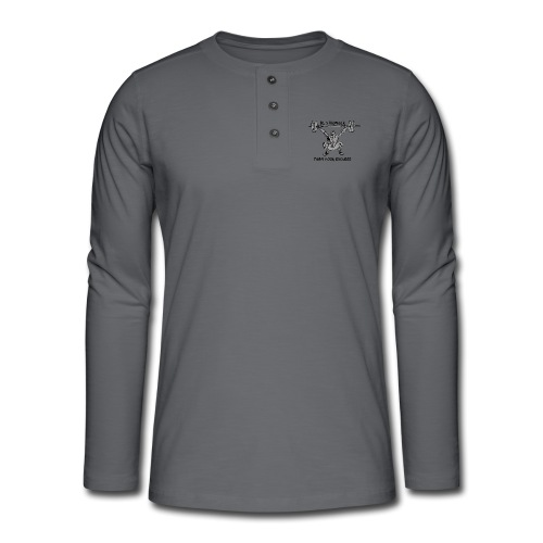 Be stronger than your excuses - Maglia a manica lunga Henley