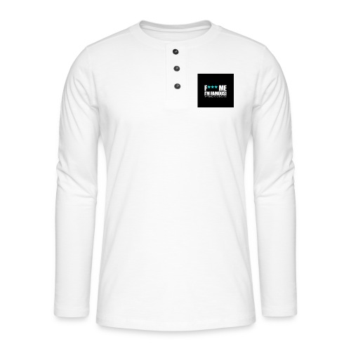 FMIF Badge - T-shirt manches longues Henley