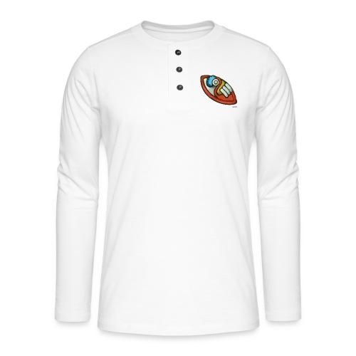 Aztec Flint Knife - Henley long-sleeved shirt
