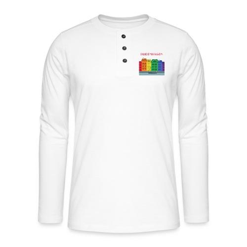 PRIDENHAGEN NYHAVN T-SHIRT - Henley T-shirt med lange ærmer