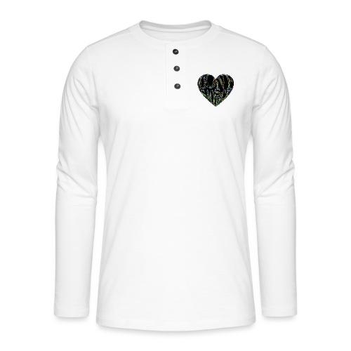 Love Is Sacrifice - Henley long-sleeved shirt