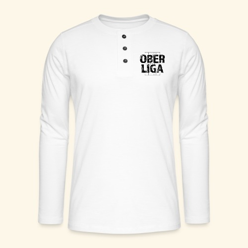 OBERLIGA im Fußballfeld - Henley Langarmshirt
