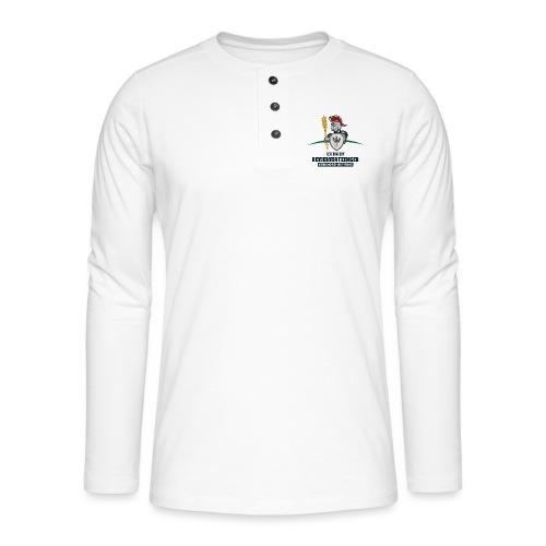 Revierverteidiger rot - Henley Langarmshirt