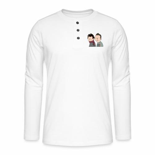 Laink et Terracid Wankuls - T-shirt manches longues Henley