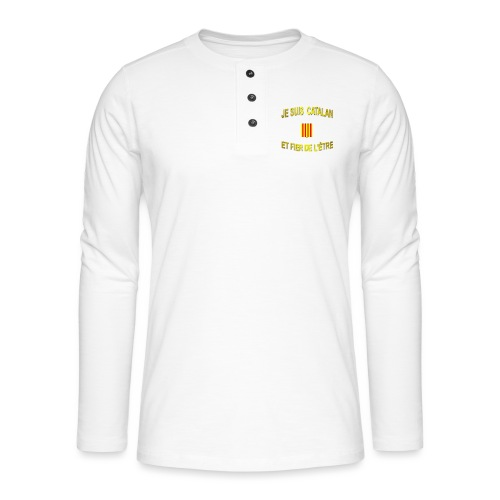 Dessous de verre à l'emblème du PAYS CATALAN - T-shirt manches longues Henley