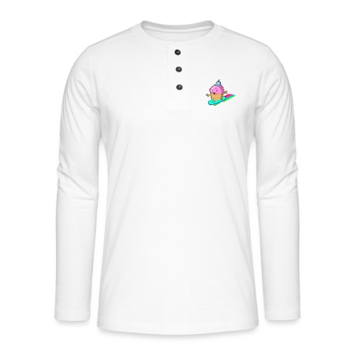 cupskate - T-shirt manches longues Henley