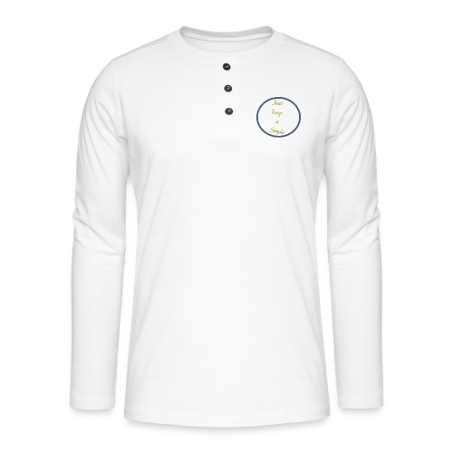 Keep it simple - Henley long-sleeved shirt