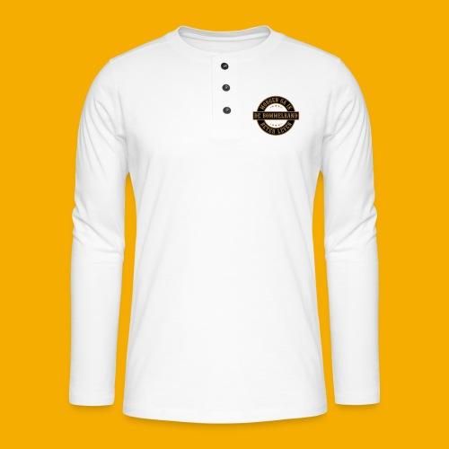 bb logo rond shirt - Henley shirt met lange mouwen