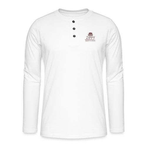 ZIPPY - Camiseta panadera de manga larga Henley