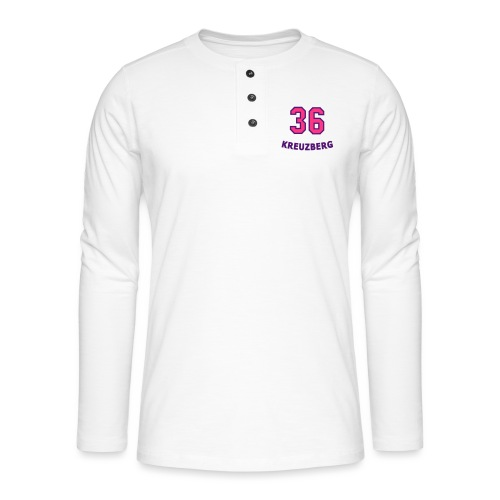 KREUZBERG 36 - Koszulka henley z długim rękawem