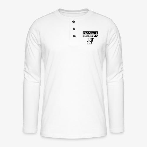 LOGO_002 - T-shirt manches longues Henley