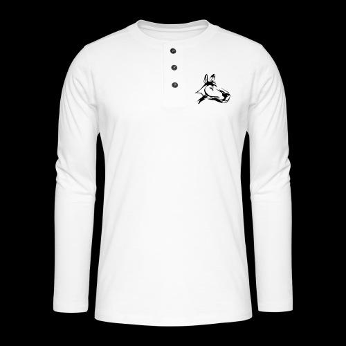 der hund 10 x 10 - Henley Langarmshirt
