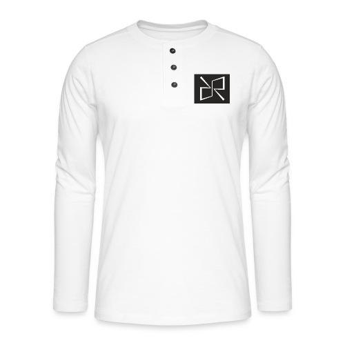 Rymdreglage logotype (RR) - Henley long-sleeved shirt