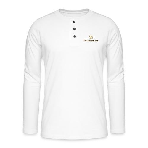 Einfachangeln Teamshirt - Henley Langarmshirt