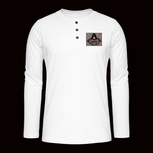 SoWeQDK Reaper ! - Henley T-shirt med lange ærmer