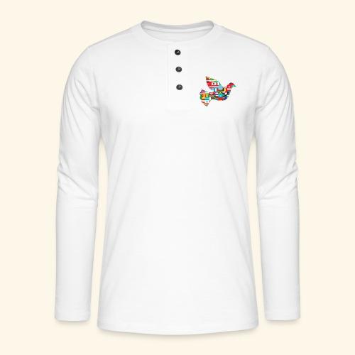 countrys t-shirt - Camiseta panadera de manga larga Henley