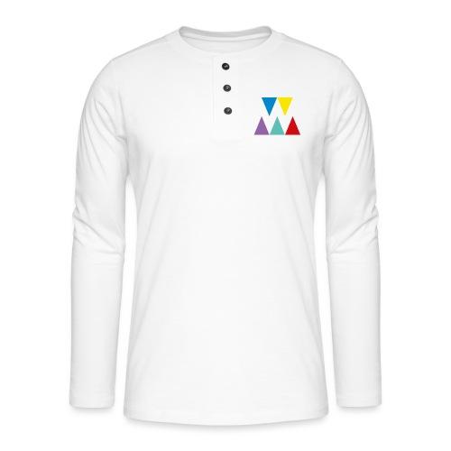 Logo We are les filles - T-shirt manches longues Henley