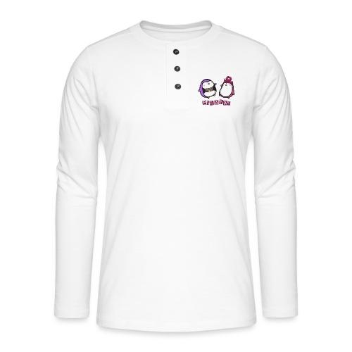 PINGUINOSPIRATAS - Camiseta panadera de manga larga Henley