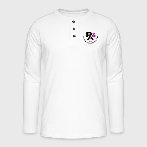 P&A - Camiseta panadera de manga larga Henley