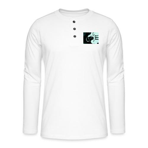 Mikkel sejerup Hansen T-shirt - Henley T-shirt med lange ærmer