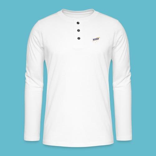 I AM LEV Banner - Henley shirt met lange mouwen