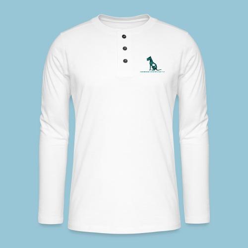 T-shirt pour homme imprimé Chien au Rayon-X - T-shirt manches longues Henley