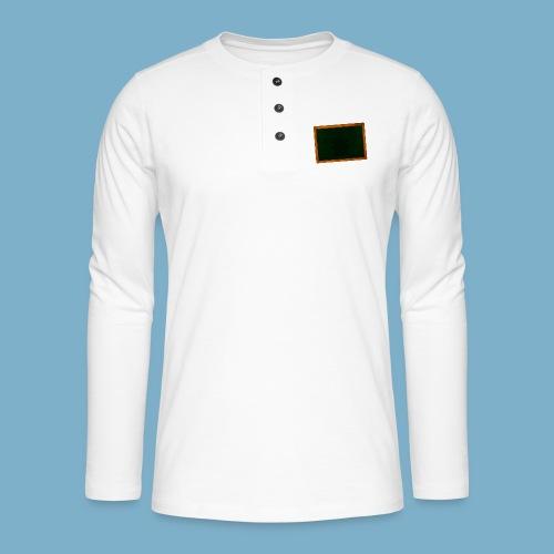 Schul Tafel - Henley Langarmshirt